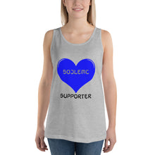 Load image into Gallery viewer, SOJ Solid Love Unisex Tank Top