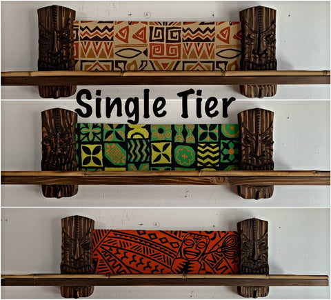 Single Tier Mug Shelf You Choose Fabric