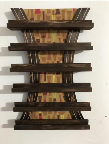 Matchbook Display Shelf