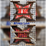 Atomic Love You Choose Fabric