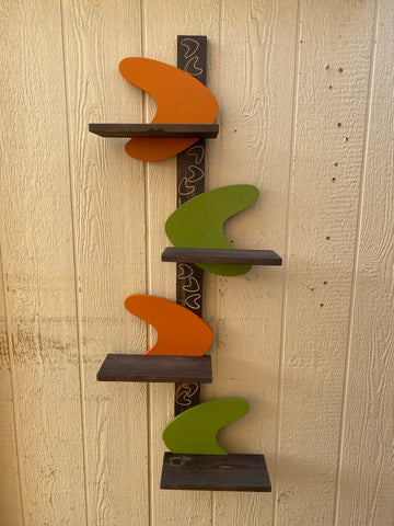 One Boomerang Shelf