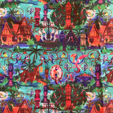 Two Tier Limited Edition Tiki Room Fabric
