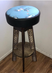 One Bar Stool with Fabric
