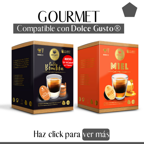 Compatible Dolce Gusto® - Gourmet
