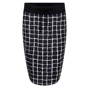 Rok in design square black print