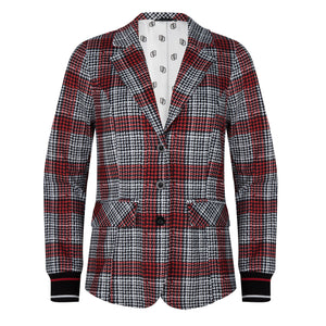 Blazer in wave square