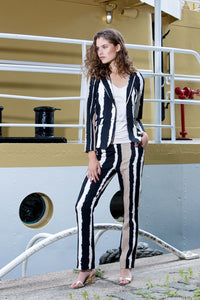 Outdoor stripe pantalon