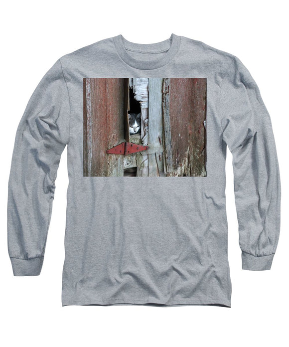 Barn Cat - Long Sleeve T-Shirt