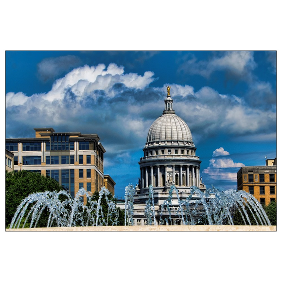 Wisconsin Capitol - 4x6 Postcards