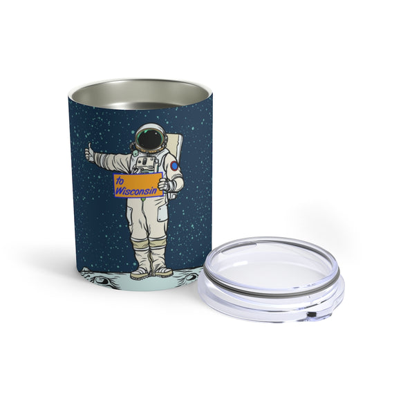 Wisconsin Spaceman - Tumbler 10oz