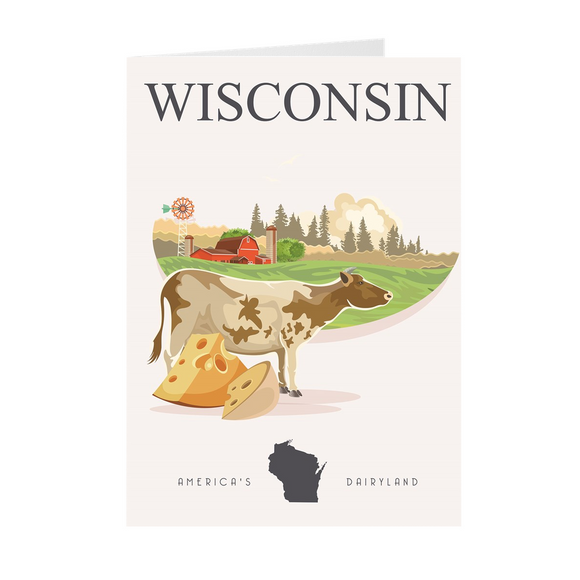 Wisconsin Dairyland - Greeting Cards