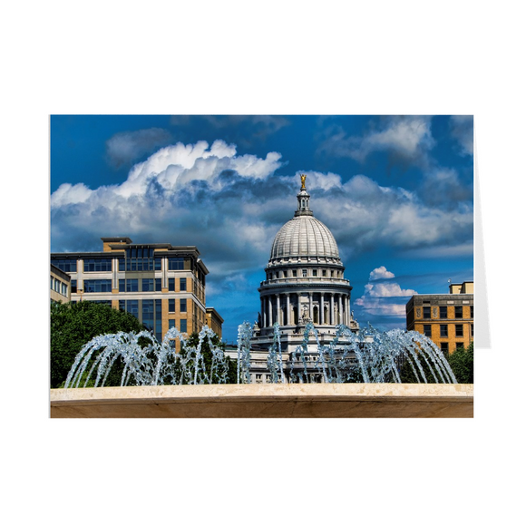 Madison Wisconsin - Capitol - Greeting Cards