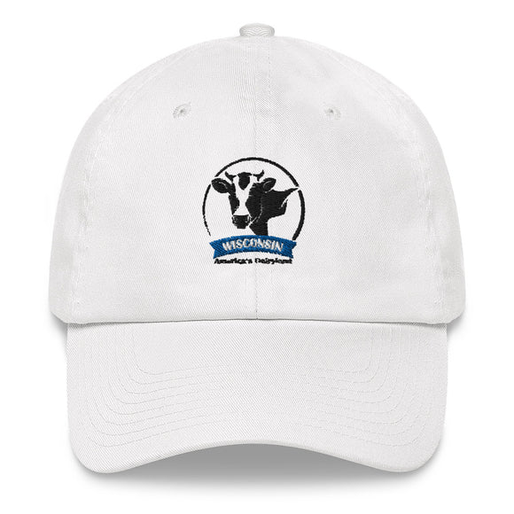 Wisconsin Cow Emblem - Dad hat