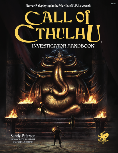 Call of Cthulhu Investigator's Handbook 7th Ed