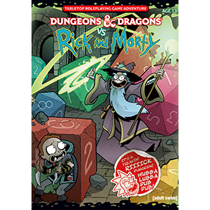 D&D 5e Dungeons and Dragons vs Rick and Morty