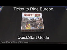Load and play video in Gallery viewer, Ticket to Ride: Europe
