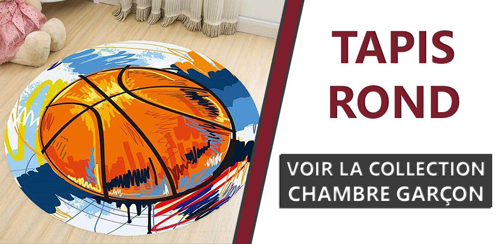 Collection Tapis Rond Chambre Enfant