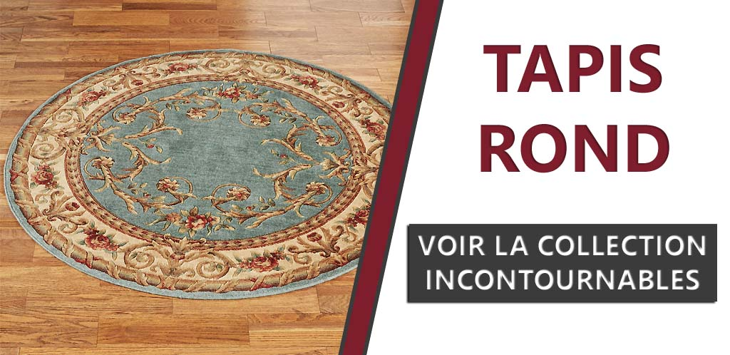 Collection tapis rond les incontournables