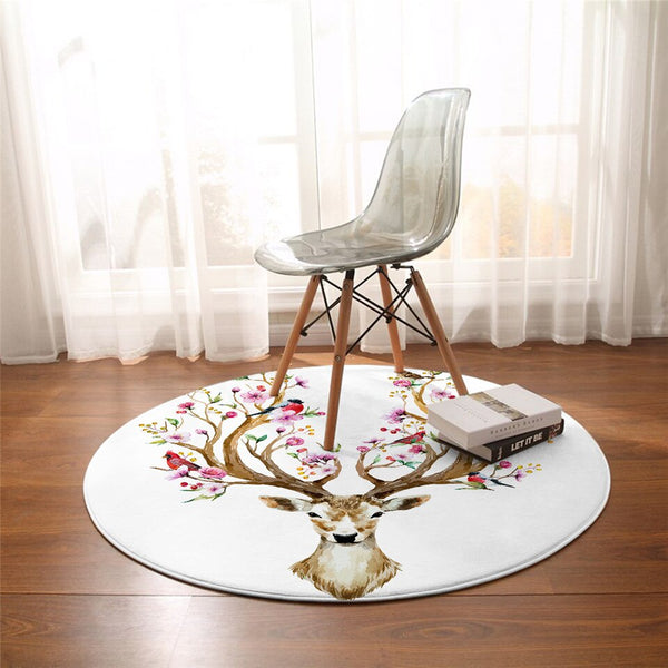 Tapis Rond <br> Renne