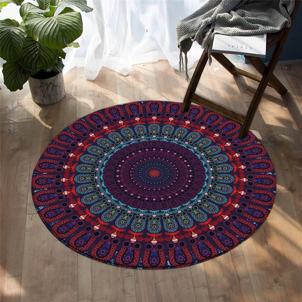Tapis Rond Figue