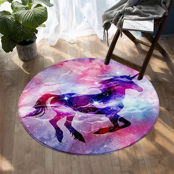 Tapis Rond Univers