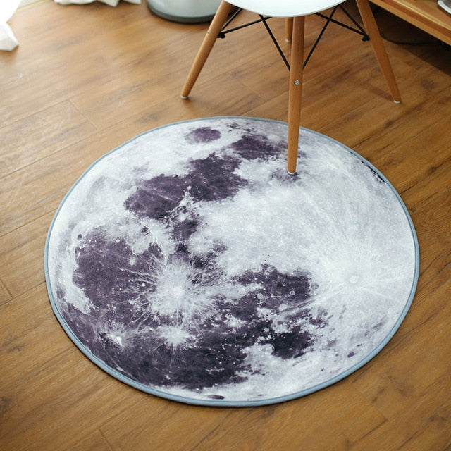 Tapis Rond Lune