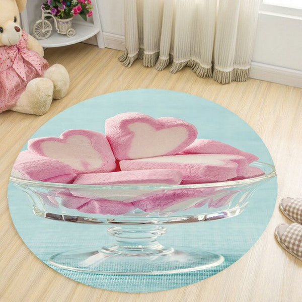 Tapis Rond Chambre Fille