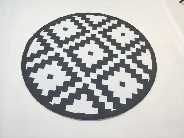Tapis Rond Grand Format