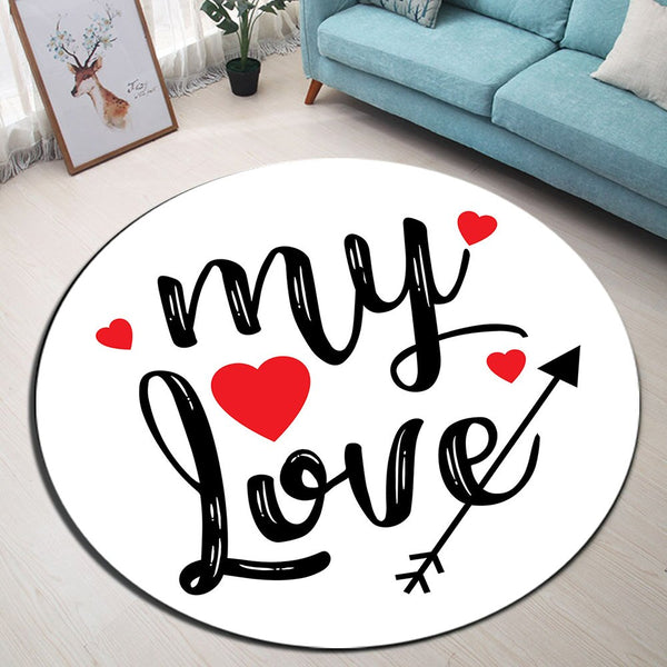 Tapis Rond My Love