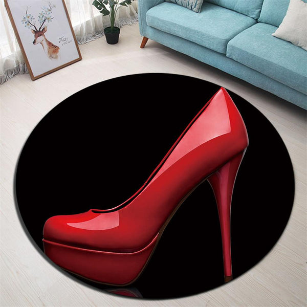 Tapis Rond Femme