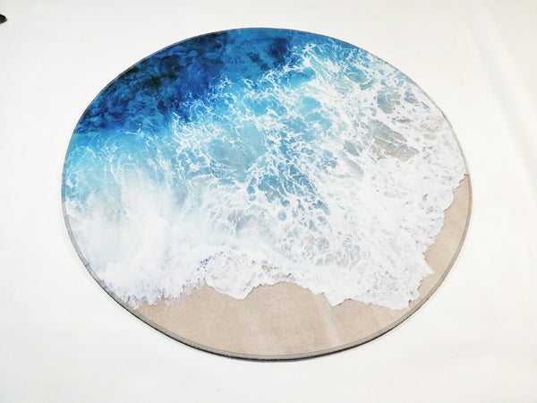 Tapis Rond Vague