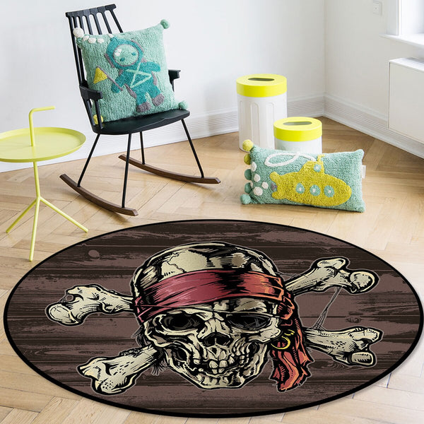 Tapis Rond Pirate