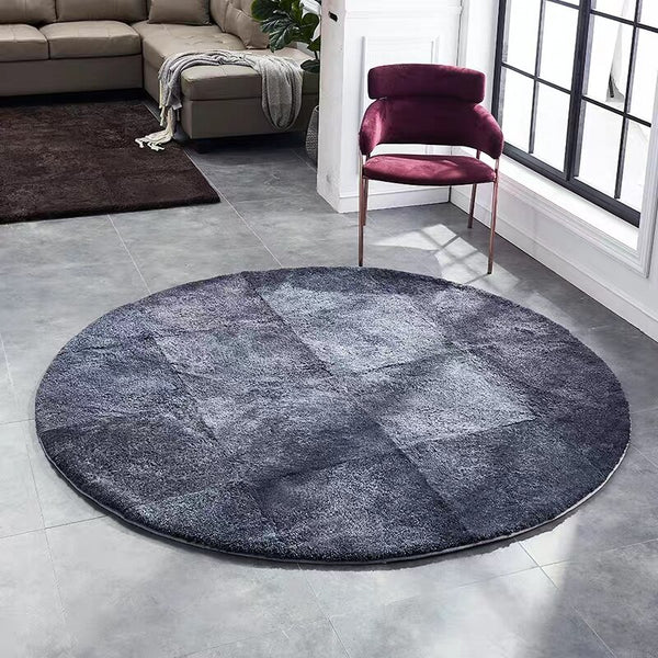 Tapis Rond Pure Laine