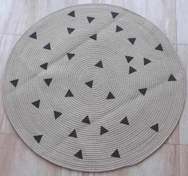 Tapis Chanvre Rond