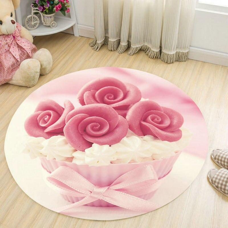 Tapis Rond Chambre Fille | Mon Tapis Rond