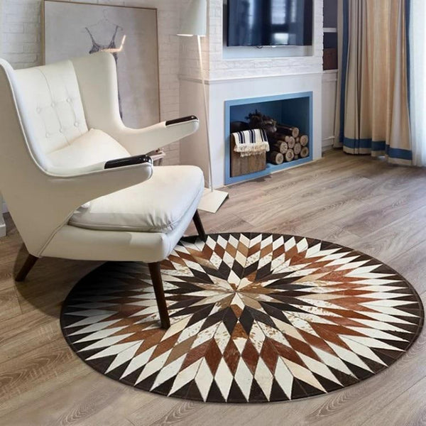 Tapis Rond Patchwork | Mon Tapis Rond