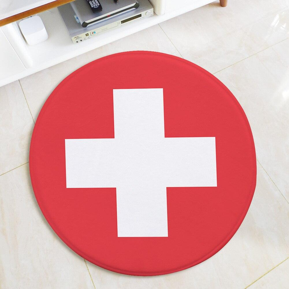 Tapis Rond Suisse | Mon Tapis Rond