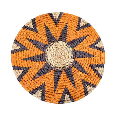 Geometric Placemat Orange