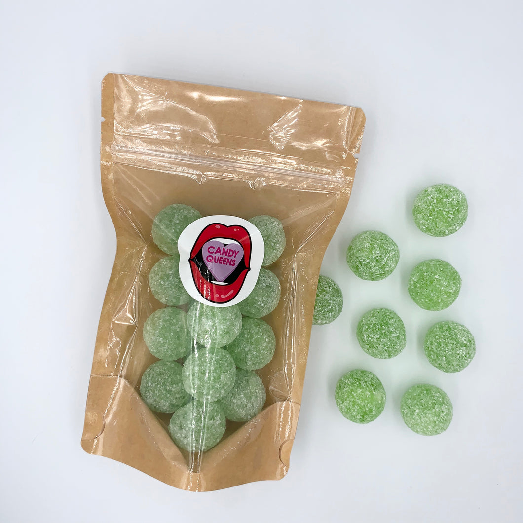 Super Sour Apple Hard Candy 130g