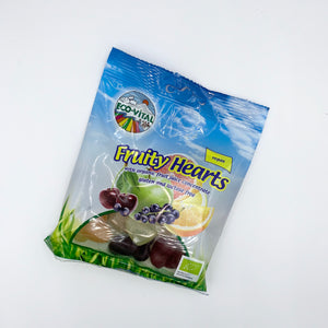 Eco-Vital Fruity Hearts 100g