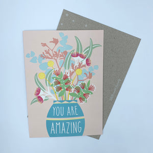 Earth Greetings You Are Amazing Card