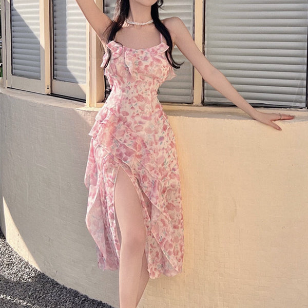 Bear retro silhouette check coat top