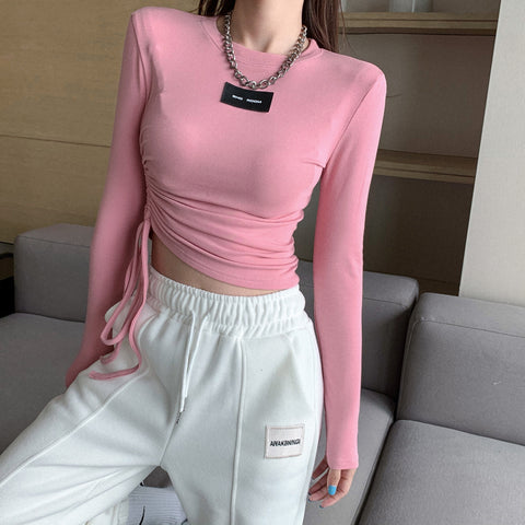 Two-piece long-sleeved casual top sports trousers