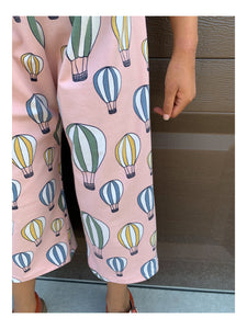 Girls Balloon Culotte Pants