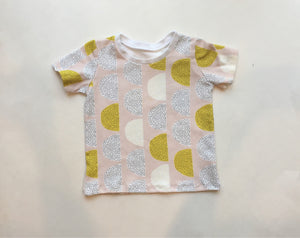 Girls Retro Moon Top