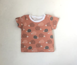 Girls Hedgehog Shirt
