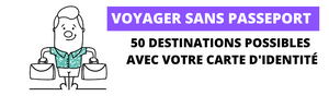 Voyager sans passeport : les 50 destinations possibles