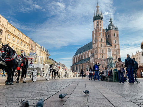 Place du marché de Cracovie