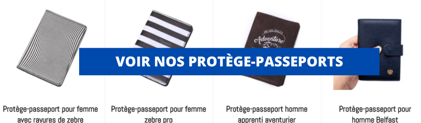 collection de protège-passeports