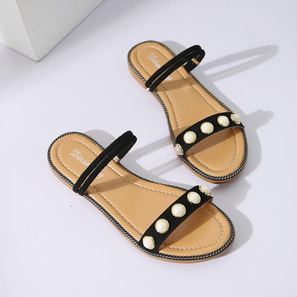 New Arrive Summer Flat Ankle Sandals Casual